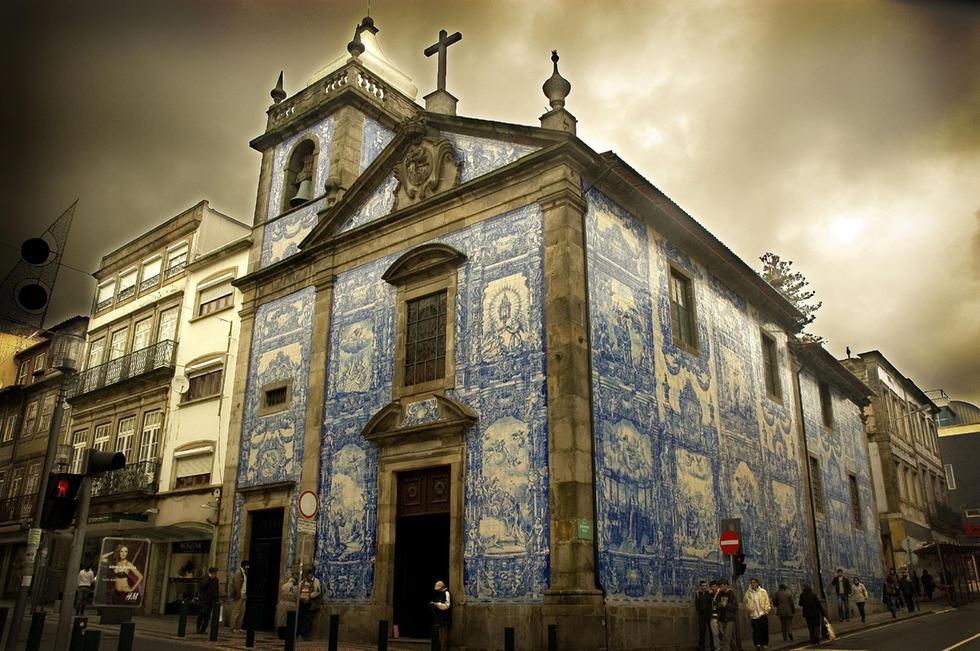 cruzeiro douro - capela das almas